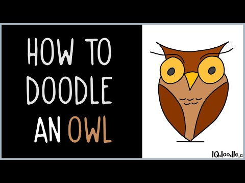 How to Draw an Owl (drawing tips)