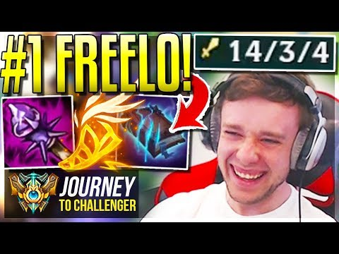 THIS CHAMP IS SO FREELO NOW OVER-BUFFED  - Journey To Challenger  League of Legends