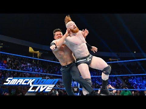 The Miz vs. Sheamus: SmackDown LIVE, Jan. 15, 2019