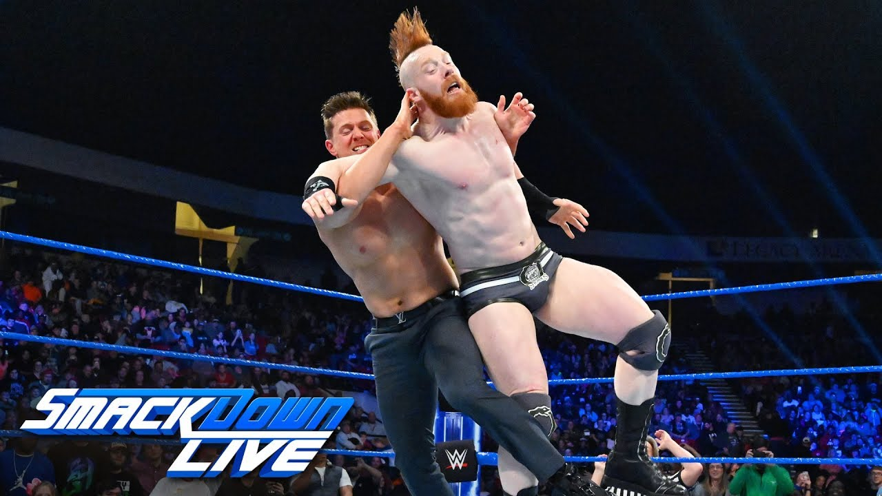The Miz vs. Sheamus: SmackDown LIVE, Jan. 15, 2019