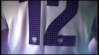 La nueva camiseta del Málaga C.F. 2012/13