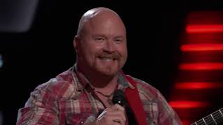 """The Voice 2017 Blind Audition   Red Marlow   """"Swingin'"""""""
