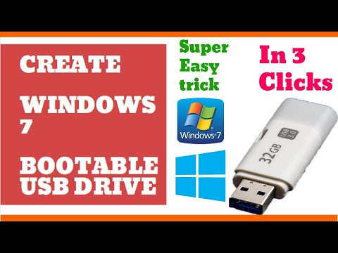 Create a bootable USB drive   Create a Windows7 bootable USB Flash drive in just 3 Clicks   Double Z