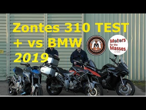 2019 Zontes 310 TEST & vs BMW G310