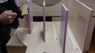 видео сборки лестницы кровати-чердака Малыш