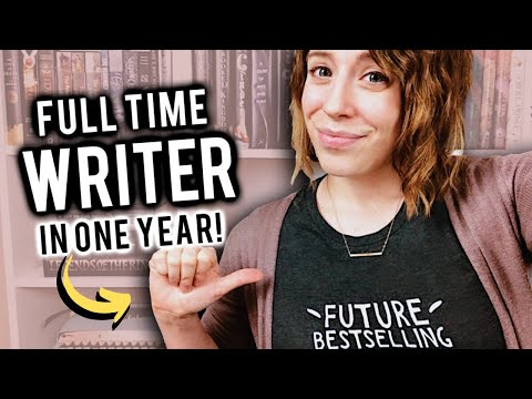 How I Became a Full Time Writer in ONE YEAR! (2018 Review)