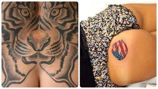 Неудачные татуировки на женских ягодицах😍