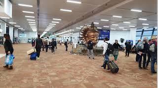 인도 뉴델리 공항 국내선 게이트 동영상 india ne…