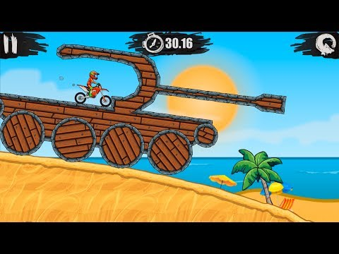 MOTO X3M Bike Racing Gameplay Video Android / iOS | Earning 3 Stars on levels 45 - 60