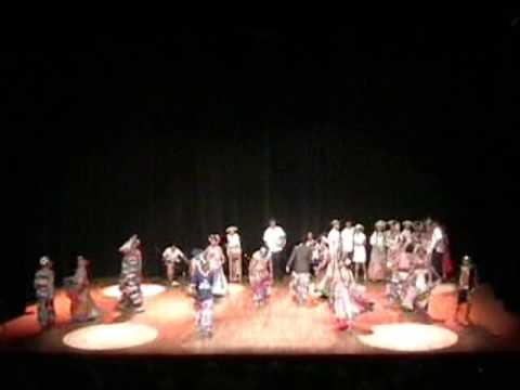 Academia Folklorica José A. Corella PANAMA (Drama Congo)