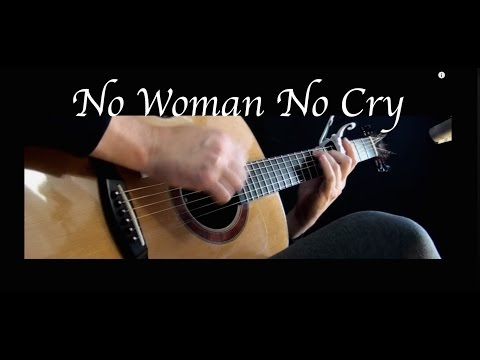 Kelly Valleau - No Woman No Cry (Bob Marley) - Fingerstyle Guitar