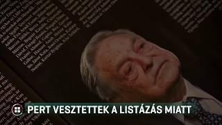 Jogsértő volt a Figyelő listázása Soros György állítólagos zsoldosairól 19-05-25
