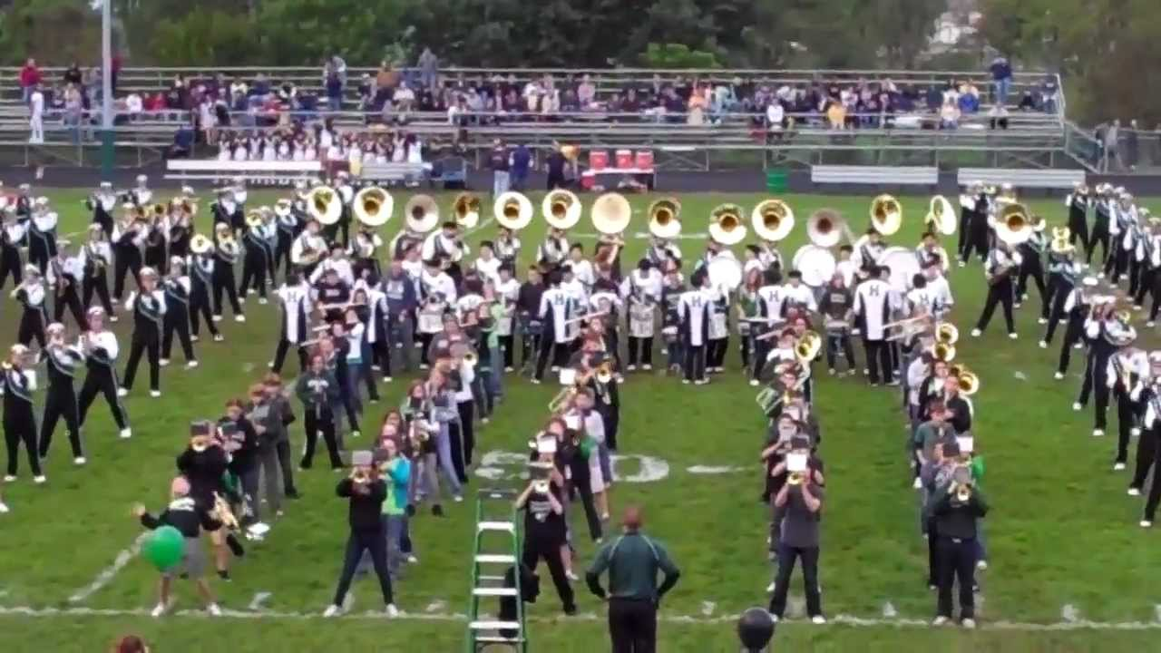 Land Of A Thousand Dances Marching Band Youtube