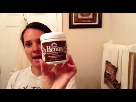 All Natural - Henna Hair Coloring - Get rid of the Grey hair!