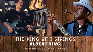 BLUES bending and phrasing in the style of ALBERT KING - Albert King Style Blues Licks