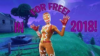 HOW TO GET THE GINGER GUNNER ON FORTNITE FOR FREE IN 2018!!