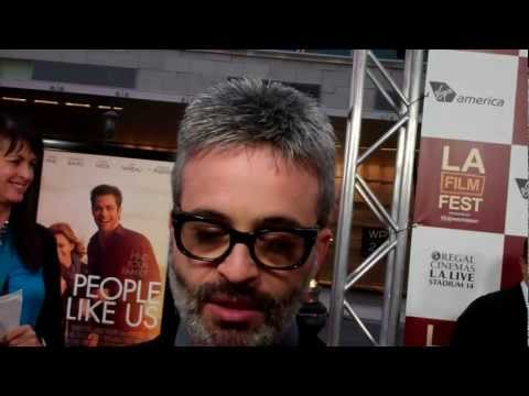 "Alex Kurtzman at the premiere of ""People Like Us"""