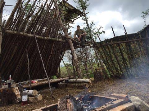 SOLO DEBRIS VILLAGE CAMP AND CAMP BUILDING