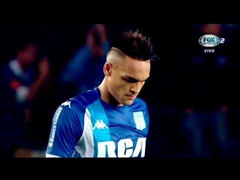 Lautaro Martínez vs River Plate(08/04/2018)Superliga Argentina 2018 HD 720p