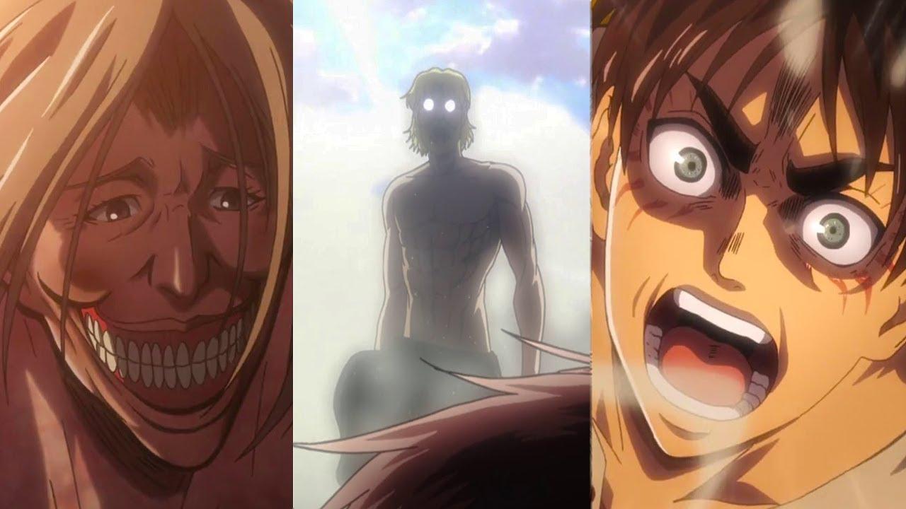 атака титанов картинка сравнение тот