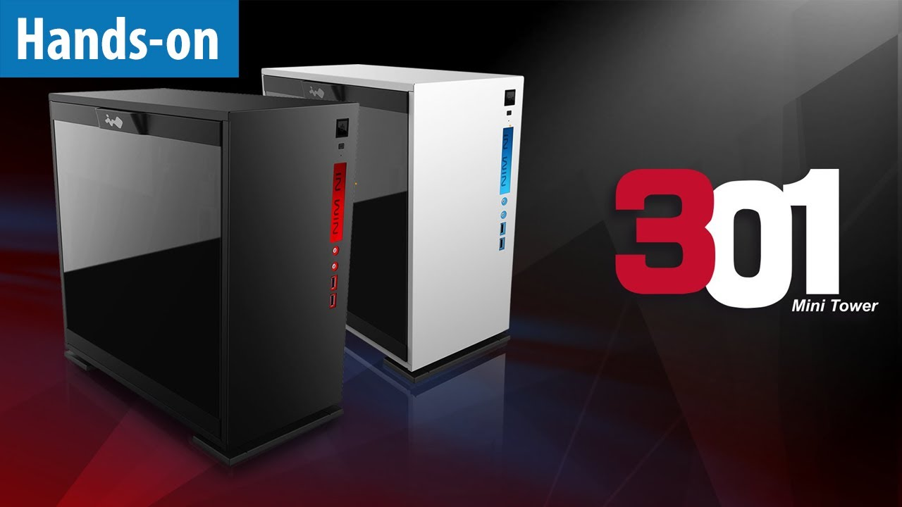 Stylishes Micro-ATX-Gehäuse InWin 301 - Hands-on / Erster ...