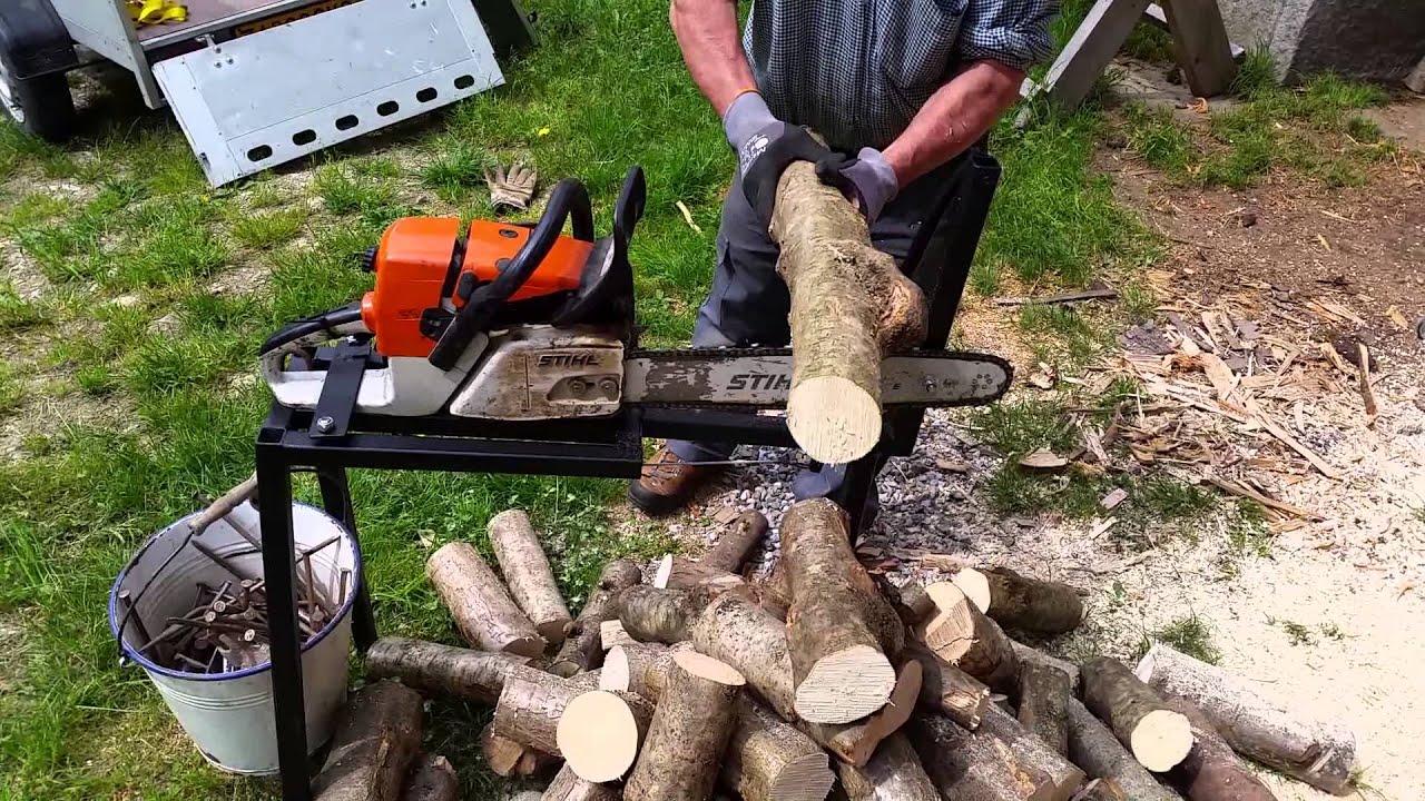 Come costruire un affilacatene motosega e come utilizzarlo