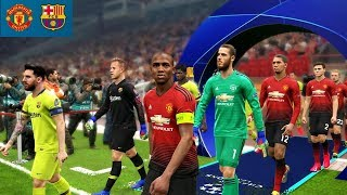 Manchester United vs Barcelona - UEFA Champions League 2019 Gameplay