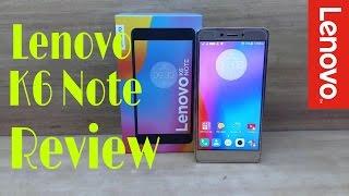Lenovo K6 Note full in-depth Review! Best K till date?