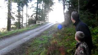 Wales Rally GB 2010 - Sebastien Ogier On Radnor Stage