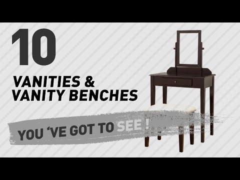 Top 10 Vanities & Vanity Benches // New & Popular 2017