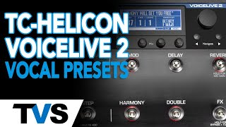 TC Helicon Voice Live 2 - Remove The Annoying Harmonies! - Lead Vocal Settings