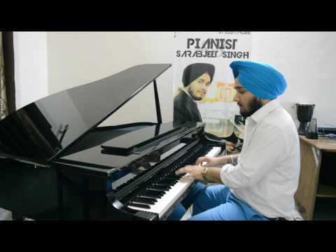 Dil ke Jharoke | Brahmachari | Mohammed Rafi | Pianist Sarabjeet | Cover song | Bollywood piano song