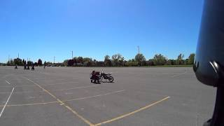 M1 Exit MSF(Motorcycle Safety Foundation) Test 2 With Explanation.