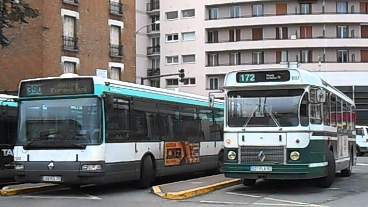 Bus Parisiens SC10UO n° 9157 à Bourg La Reine avec 2 Agora ...