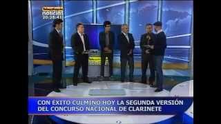 CLARIPERU: Ganadores del II Concurso Nacional de Clarinetel ClariSax Medellin 2012