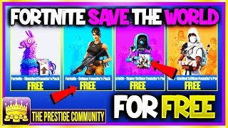 💥 NEW How To Get Fortnite SAVE THE WORLD For FREE 5.41! 👉 *FREE V-Bucks* (Working STW Free Glitch)