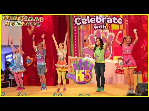 Hi-5 Live Dance Show - Celebrate with Hi-5 United Square Shopping Mall