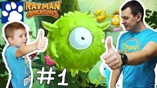 ПРИКЛЮЧЕНИЯ РЕЙМАНА [#1] | Прохождение игры Rayman Adventures | Матвей Котофей Летсплей