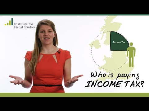 Who is paying income tax?