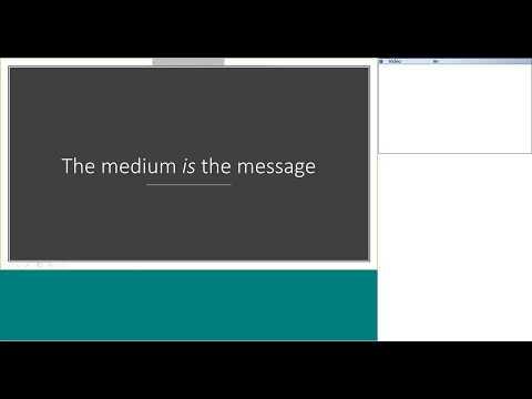 [Webinar] The Medium is Message by Dieter Vlaminck