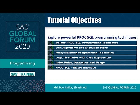 sas-tutorial-|-proc-sql-programming-techniques-for-sas-users-and-programmers