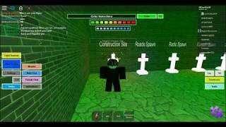 Roblox Slender's Revenge Reborn: How to Activate Elevator/Powerplant.