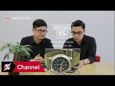 Hỏi đáp đồng hồ 13: Kính Seiko 5 quân đội dễ xước? Sai số đồng hồ điện tử