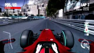 F1 2010 Ferrari: Monaco [time trial] Pc gameplay HD