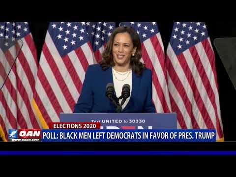 Poll: Black men left Democrats in favor of President Trump
