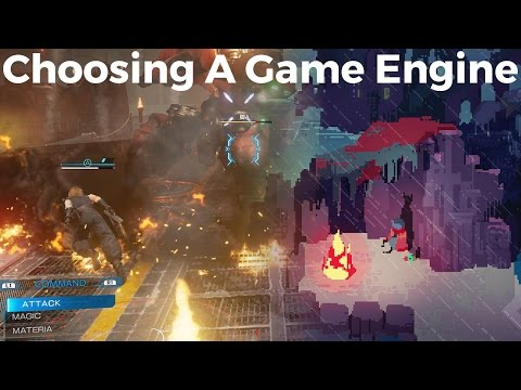 How to choose a game engine