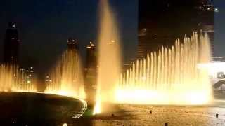 Dubai Fountain- Baba Yetu