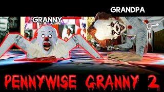 БАБКА ГРЕННИ стала КЛОУНОМ ПЕННИВАЙЗ ОНО и ГРЕНДПА Обновление - Granny 2 Chapter Two Гренни 2