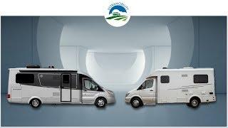 Class B+ Comparison | Pleasureway Plateau XLTD v Leisure Travel Vans Wonder RTB | Rear Twin Beds