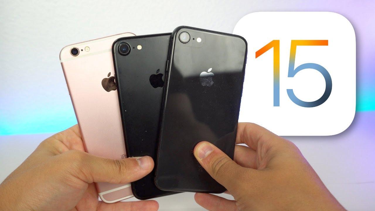 Download iOS 15 en iPhone 6s, iPhone 7 y iPhone 8, ¡Mi experiencia! 🔥